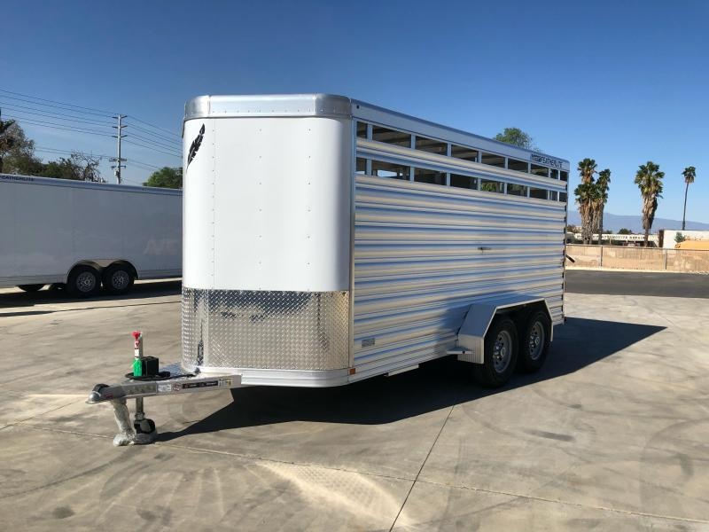 2021 Featherlite 8107 Livestock Trailer