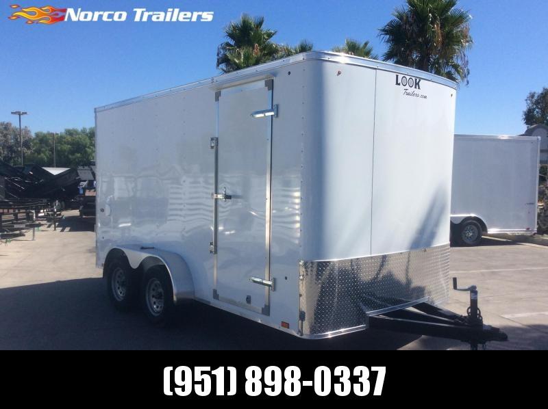 2020 Look Trailers STLC 7' x 14' Tandem Axle Enclosed Cargo Trailer