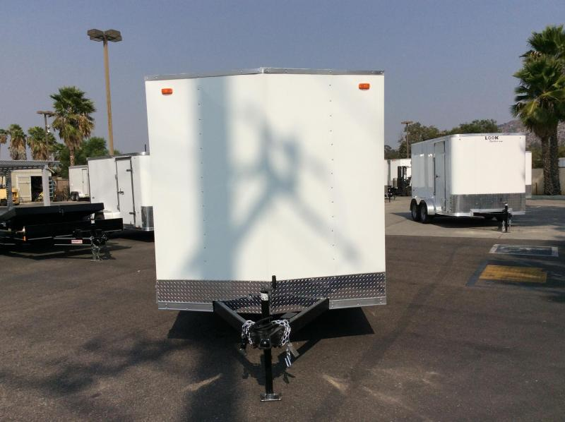 2021 Look Trailers Equinox 7' x 14' Tandem Axle Enclosed Cargo Trailer
