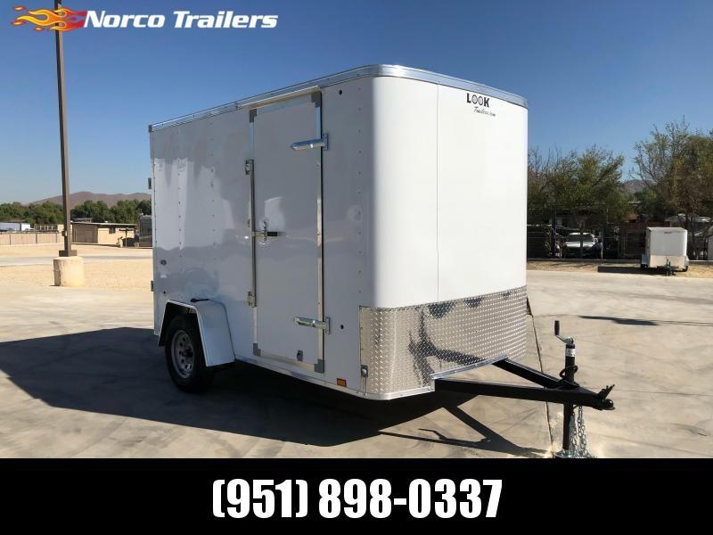 2021 Look Trailers STLC 6 X 10 Enclosed Cargo Trailer