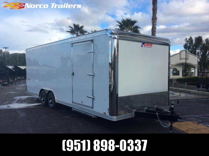 2019 Pace American Shadow 8.5' X 24' Tandem axle Car / Racing Trailer