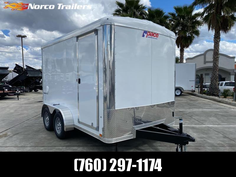 2021 Pace American Cargo Sport 7' x 12' Tandem Axle Enclosed Cargo Trailer