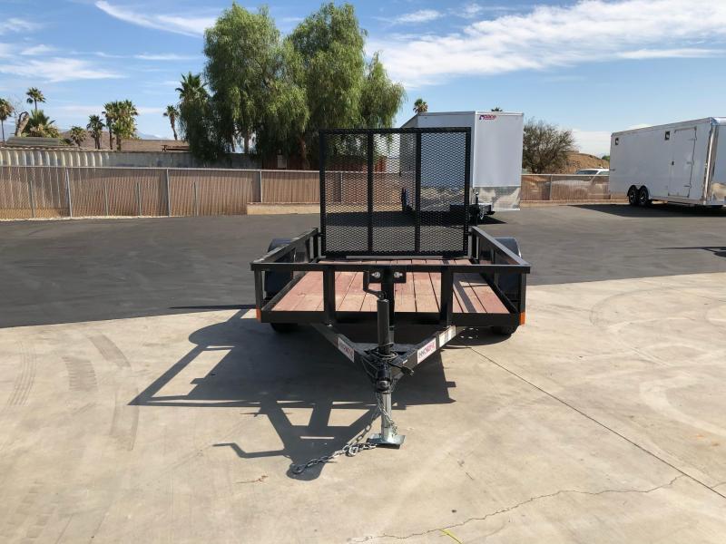 2018 Innovative Trailer Mfg. 5 x 8' Economy Wood Single Axle Utility Trailer