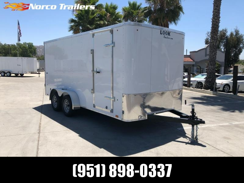 2021 Look Trailers STLC 7' x 16' Enclosed Cargo Trailer