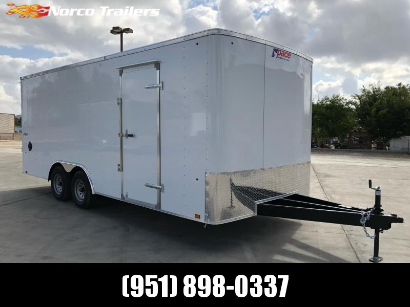 2022 Pace American Outback 8.5 x 20 Tandem Axle Car / Racing Trailer