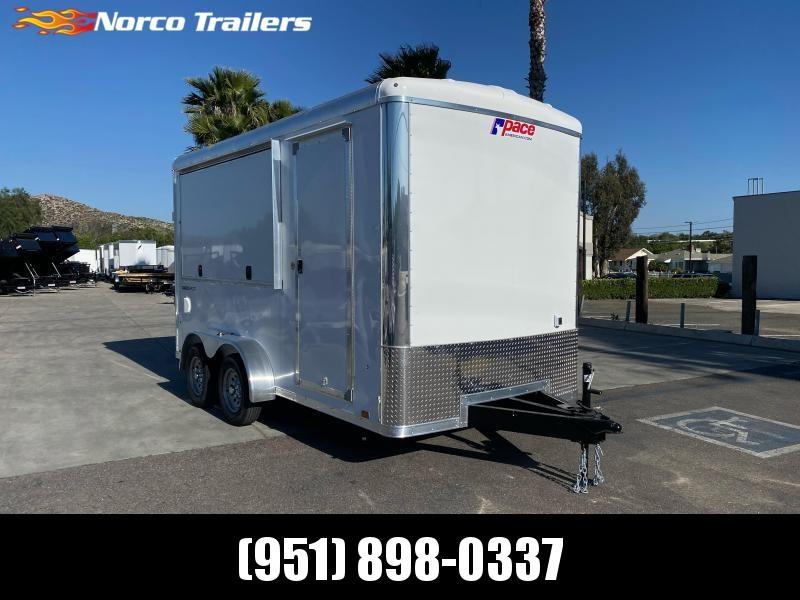 2021 Pace American Cargo Sport 7' x 14' Tandem Axle Vending / Concession Trailer