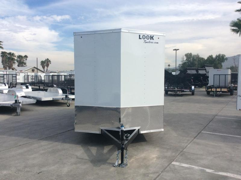 2019 Look Trailers STVLC 7' x 14' Tandem Axle Enclosed Cargo Trailer