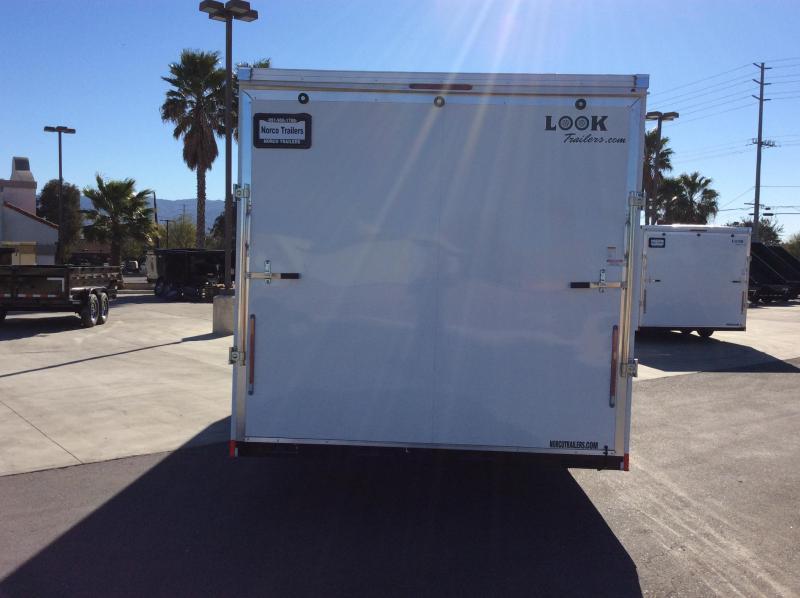 2021 Look Trailers Vision 8.5' x 24' Tandem Axle Car / Racing Trailer