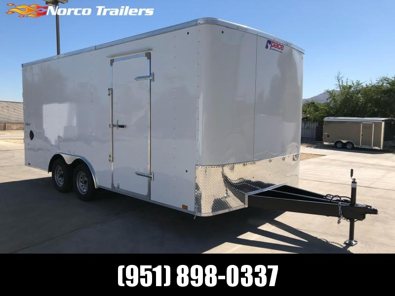 2022 Pace American Outback 8.5' x 18' 7K Car / Racing Trailer