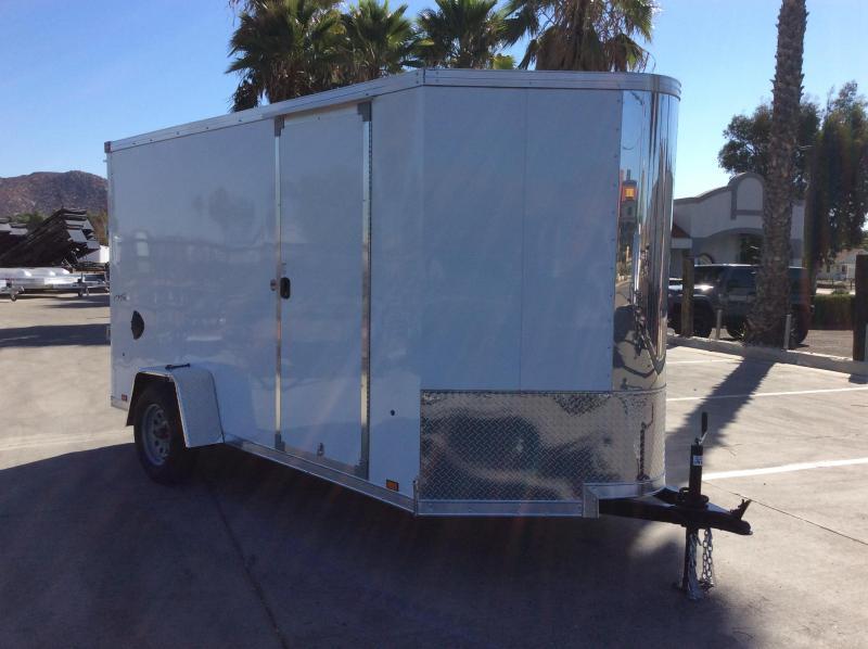 2022 Look Trailers Vision 6' x 12' Enclosed Cargo Trailer