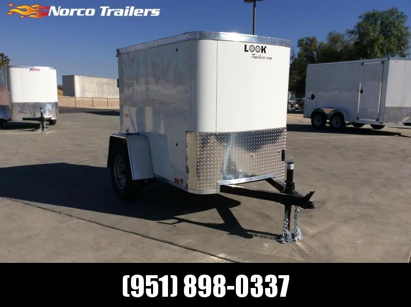 2021 Look Trailers STLC 4' x 6' Enclosed Cargo Trailer