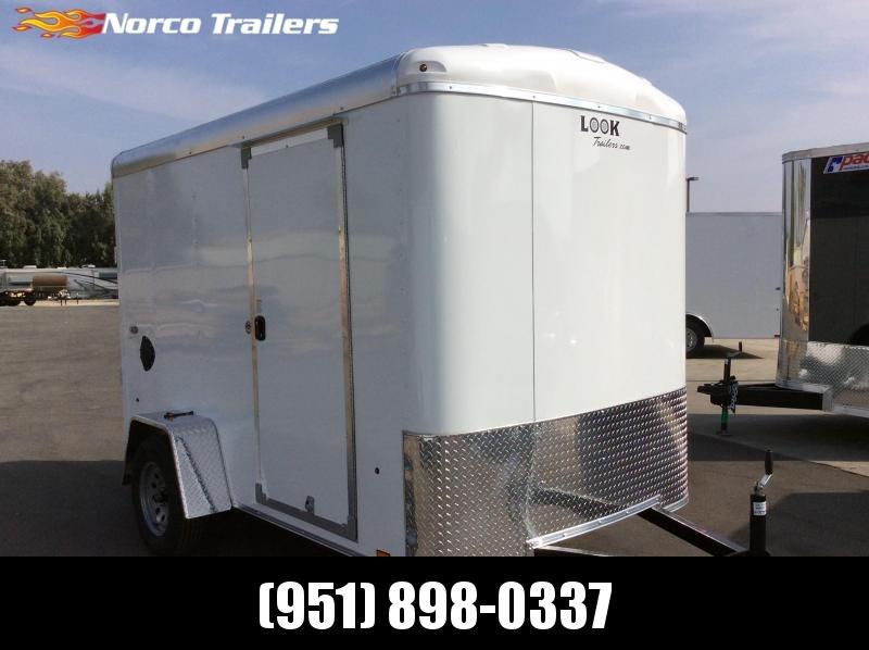2021 Look Trailers STRLC DLX 6' X 10' Enclosed Cargo Trailer