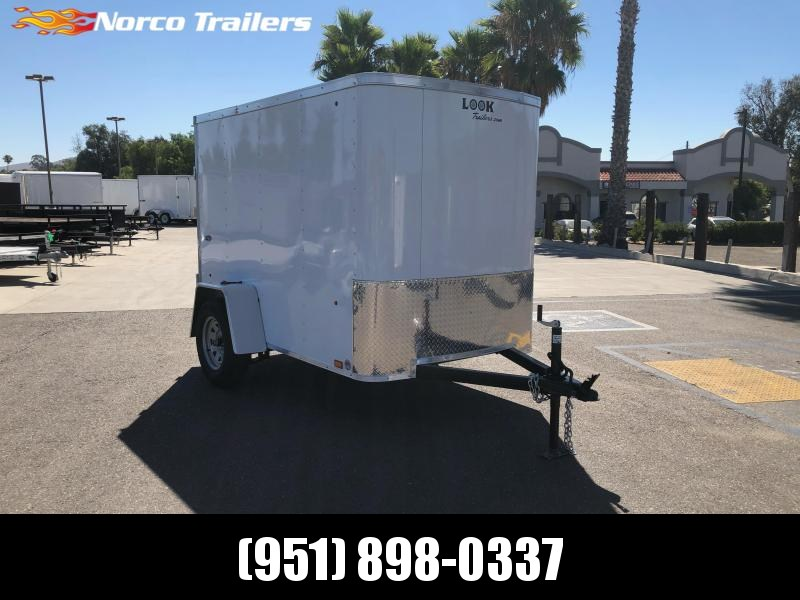 2021 Look Trailers STLC 5' x 8' Enclosed Cargo Trailer