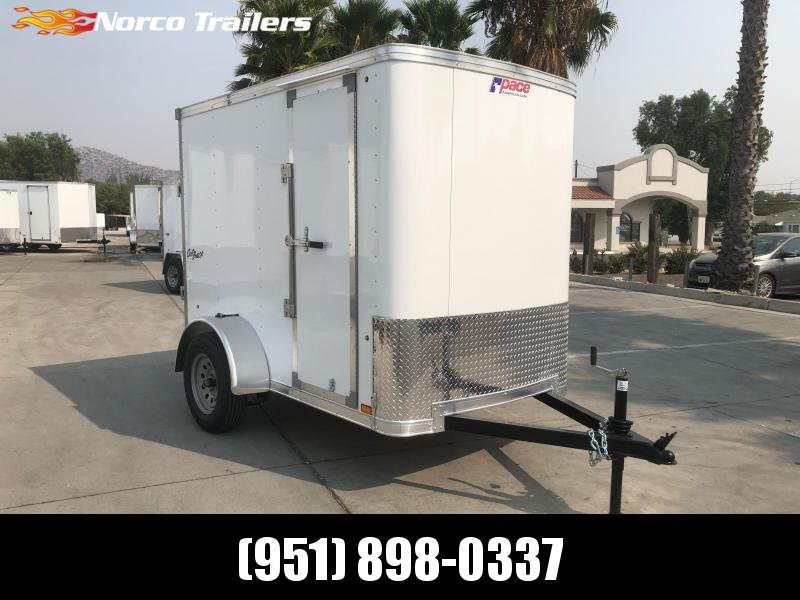 2021 Pace American Outback 5' x 8' Enclosed Cargo Trailer
