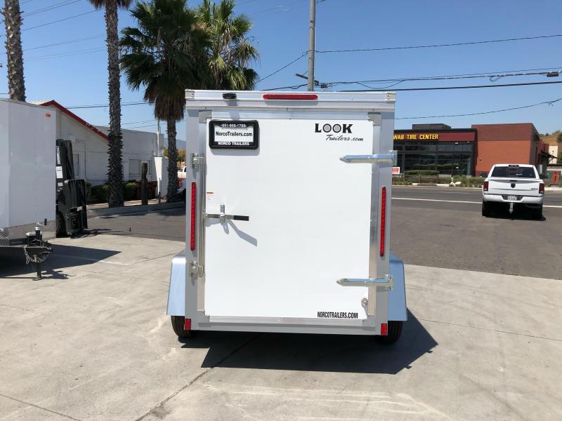 2021 Look Trailers STLC 5 x 8' Enclosed Cargo Trailer