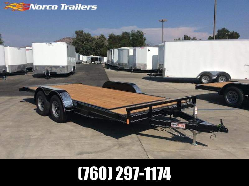 "2021 Innovative Trailer Mfg. 83"" x 18' 7K Tilt-Deck Flatbed Trailer"