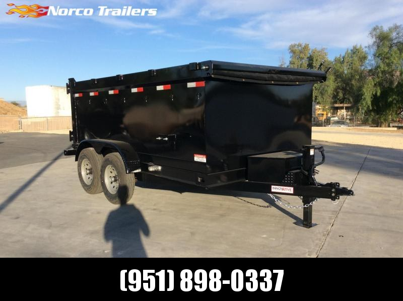 "2022 Innovative Trailer Mfg. 83"" x 12' 14K Dump Trailer"