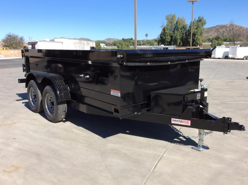 "2021 Innovative Trailer Mfg. 72"" x 12' 10K Dump Trailer"