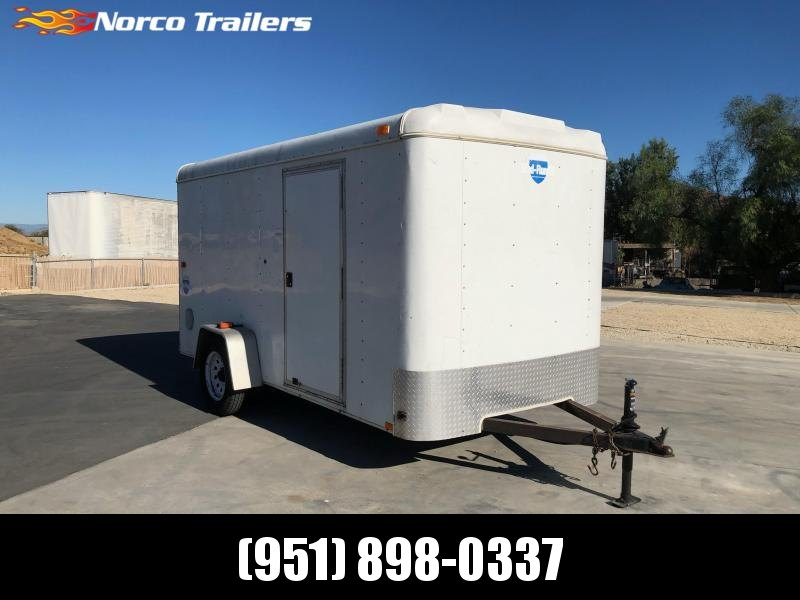 2009 Interstate 6' x 12' Single Axle Enclosed Cargo Trailer