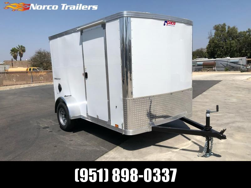 2022 Pace American CargoSport 6' x 10' Enclosed Cargo Trailer