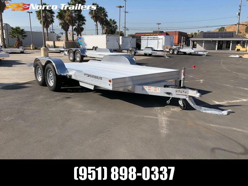 2021 Featherlite 3110 8.5' x 14' Flatbed Trailer