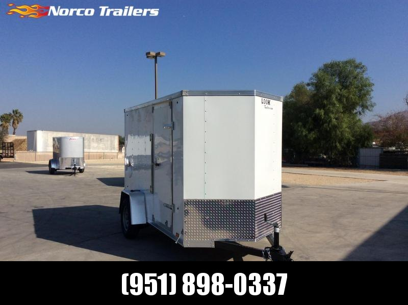 2021 Look Trailers Element 5' x 10' Enclosed Cargo Trailer