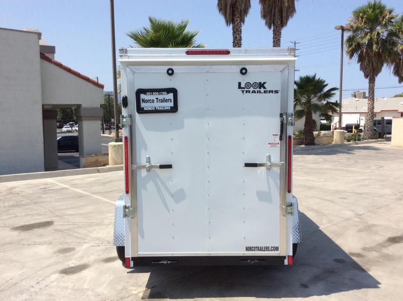 2022 Look Trailers Element 5' X 10' Enclosed Cargo Trailer