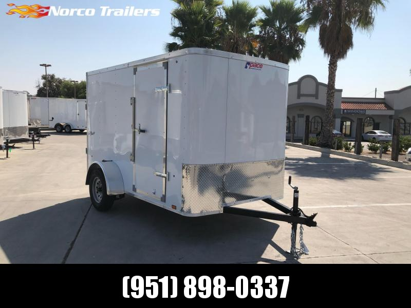 2021 Pace American Outback 6' x 10' Cargo / Enclosed Trailer
