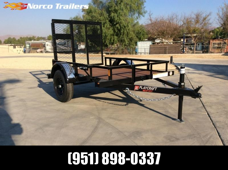2021 Playcraft 4' x 6' Big Mini 2K Utility Trailer