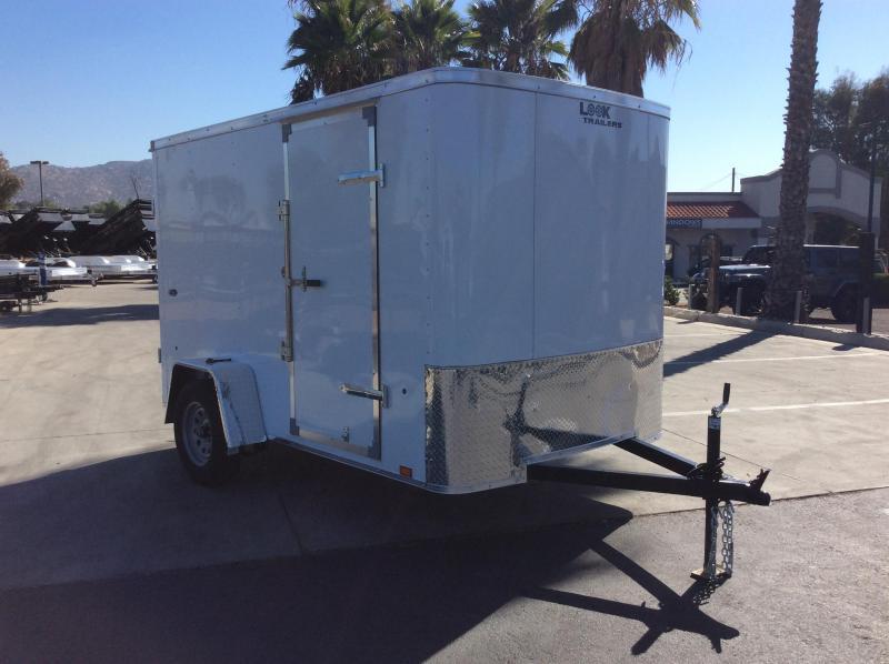 2022 Look Trailers STLC 6' x 10' Single Axle Enclosed Cargo Trailer