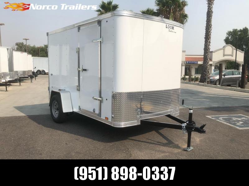 2021 Look Trailers STLC 6' X 10' Cargo / Enclosed Trailer