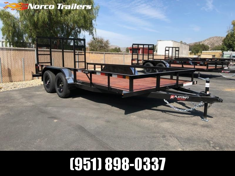 "2021 Sun Country Playcraft 82"" x 16' Utility Trailer"