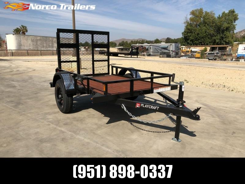 2021 Sun Country Playcraft BM 4x6 Utility Trailer
