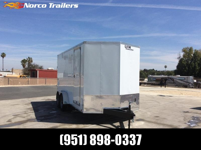 2022 Look Trailers Element 7' x 16' Tandem Axle Enclosed Cargo Trailer