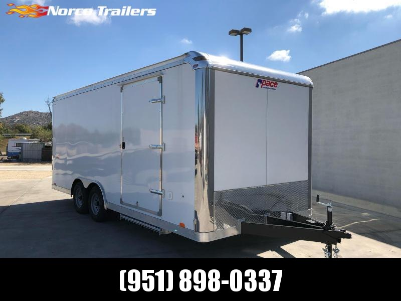 2021 Pace American Shadow 8.5' X 20' Tandem axle Car / Racing Trailer