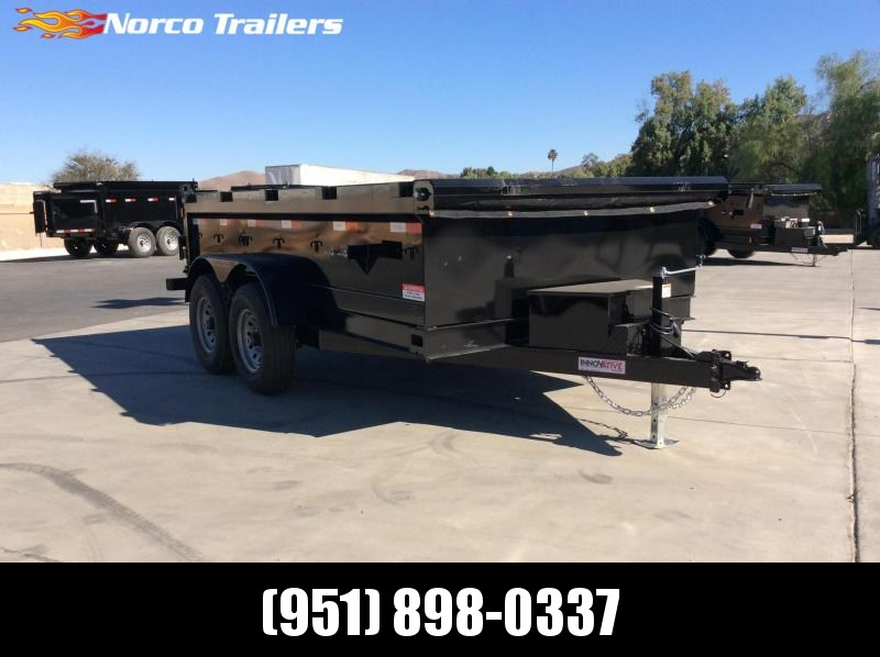 "2021 Innovative Trailer Mfg. 83"" x 12' 12K Dump Trailer"