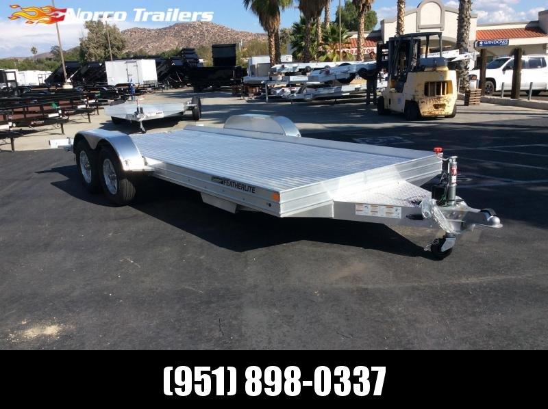 2022 Featherlite 3110 8.5' x 17.5' 7K Flatbed Car Trailer