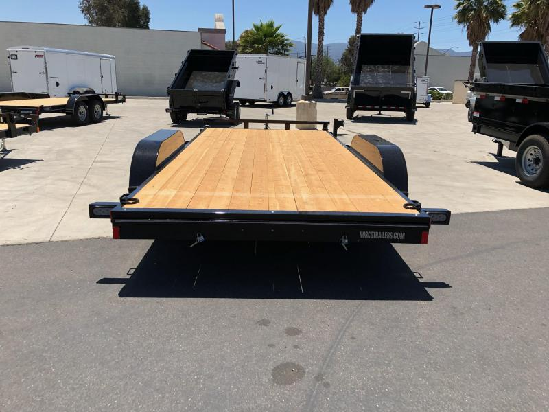 "2022 Innovative Trailer Mfg.  83"" x 16' 7K Flatbed Car Trailer"