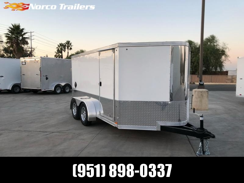 2021 Pace American 7' x 12' Enclosed Motorcycle Trailer
