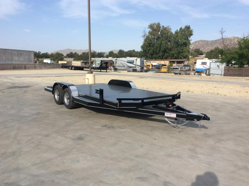 "2021 Innovative Trailer Mfg. 83"" x 18' 7k Steel Deck Flatbed Trailer"