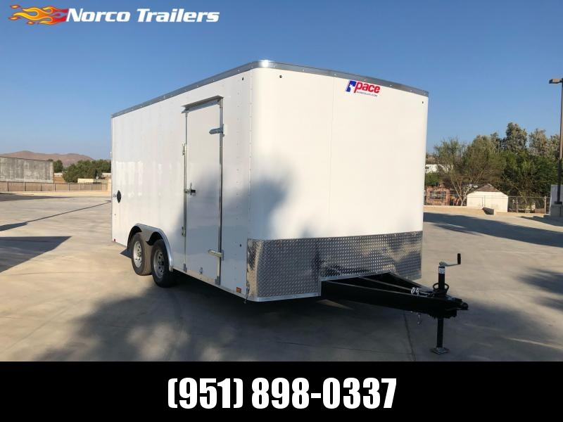 2021 Pace American Outback 8.5' x 16' 7K Car / Racing Trailer