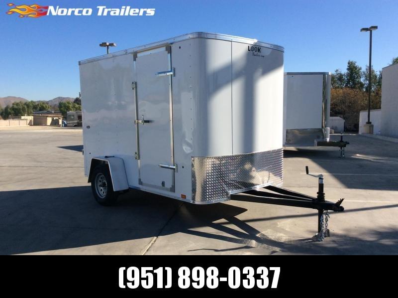 2021 Look Trailers STLC 6' x 12' Enclosed Cargo Trailer