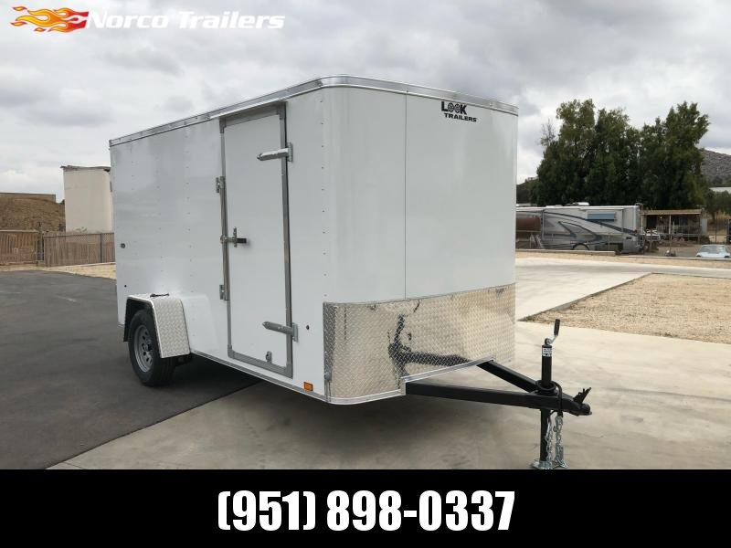 2022 Look Trailers STLC 6' x 12' Single Axle Enclosed Cargo Trailer