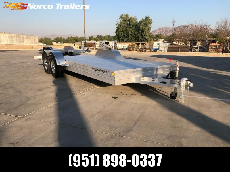 2021 Featherlite 3110 8.5' x 20' 10K Flatbed Car Trailer