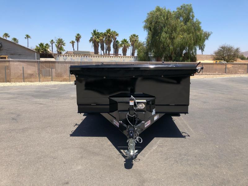 "2022 Innovative Trailer Mfg. 83"" x 12' 10K Dump Trailer"