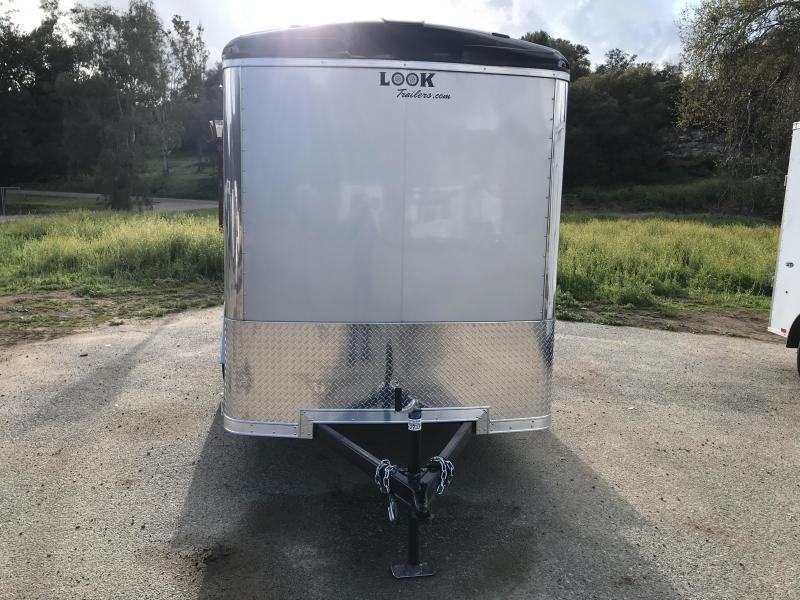 2019 Look Trailers Vision 6' x 10' Enclosed Cargo Trailer