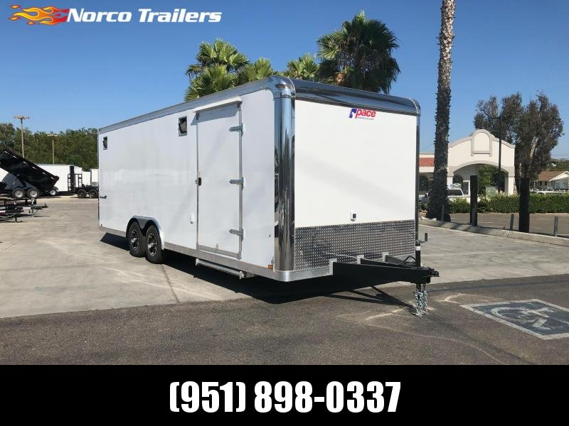 2021 Pace American Shadow GT 8.5' x 24' 10K Car / Racing Trailer