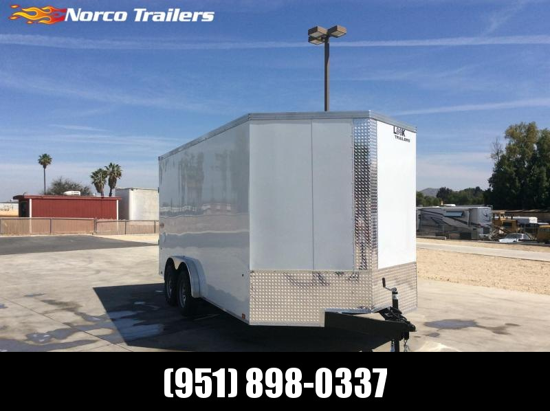 2022 Look Trailers Element 7.5' x 16' Tandem Axle Enclosed Cargo Trailer