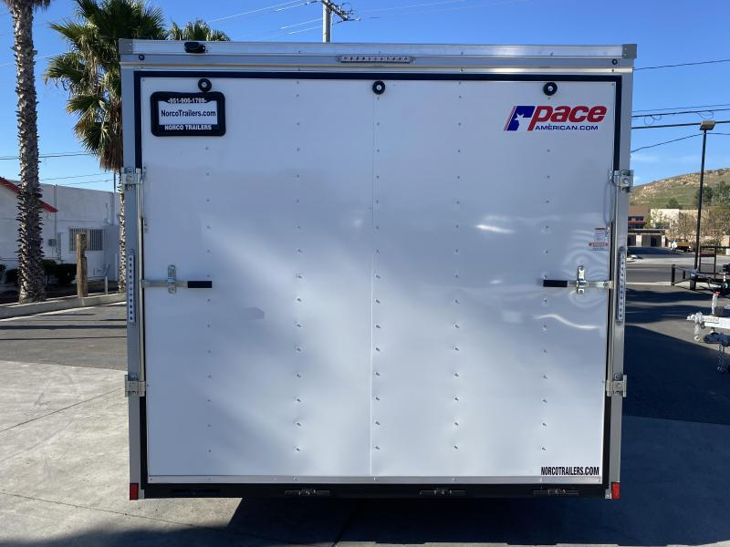 2021 Pace American Outback 8.5' x 24' Tandem Axle Enclosed Car Trailer