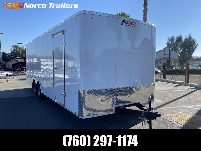 2021 Pace American Outback 8.5' x 24' Tandem Axle Enclosed Cargo Trailer